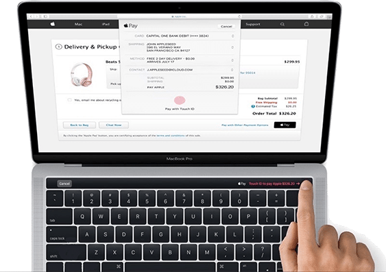 Macbook Pro touch id 2018